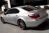 SAVINI® - SV-27S Chrome on Lexus LS