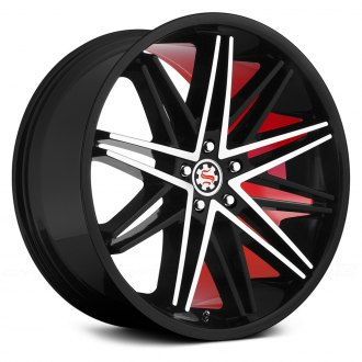 SCARLET® - SW1-M SCARLETT Flat Black with Machined Face and Red Inner