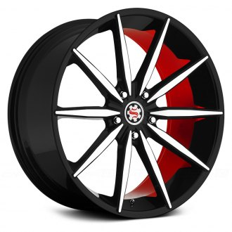 SCARLET® - SW2-M MONROE Flat Black with Machined Face and Red Inner