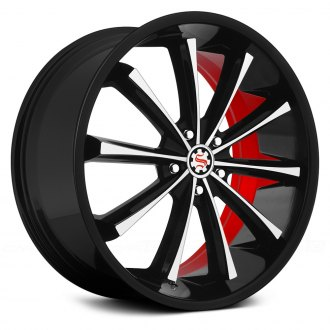 SCARLET® - SW3-M GARBO Flat Black with Machined Face and Red Inner