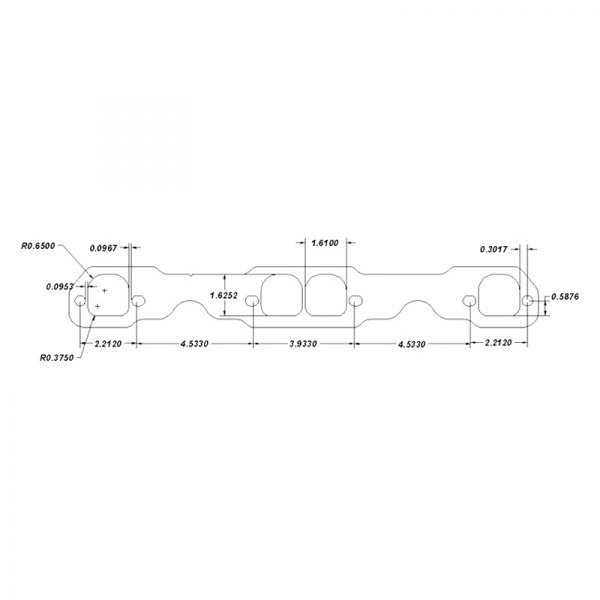 Schoenfeld Headers® - Exhaust Header Gasket