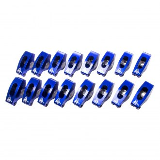 "Scorpion Racing® - 7/16"" x 0.150"" Offset Blue Race Series Rocker Arm Kit"