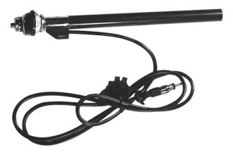 "Scosche® - Fender Mount Antenna with 5-Section 37"" Steel Mast"