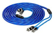 Scosche® - Reference Twisted Single Jacket RCA Cable