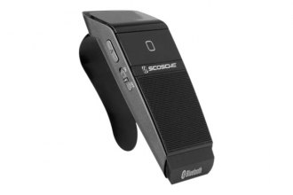 Scosche® - Visor Mount Bluetooth Handsfree Speaker with Caller ID
