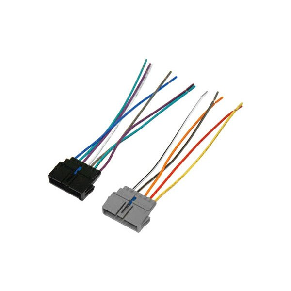 scosche® cr01b factory replacement wiring harness oem radio scosche® factory replacement wiring harness oem radio plug and provides 4 speaker connectors