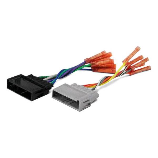 [SCHEMATICS_4JK]  Scosche® CR01BCB - Aftermarket Radio Wiring Harness with OEM Plug,  Pre-Terminated with Butt Connectors | Scosche Wiring Harness Diagram 88 Jeep Cherokee |  | CARiD.com