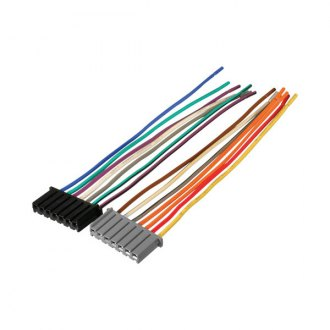 cr01rb_6 dodge dakota oe wiring harnesses & stereo adapters carid com Scosche Wiring Harness Color Code at bayanpartner.co