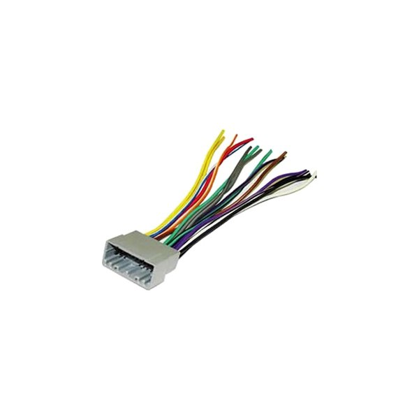 cr02b_1 scosche� cr02b aftermarket radio wiring harness with oem plug Scosche Wiring Harness Color Code at bayanpartner.co