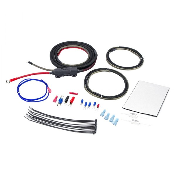 Scosche® - OFC 8AWG Moto Amplifier Wiring Kit
