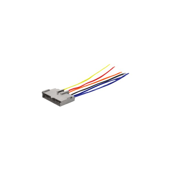 Scosche® - Ford Fusion 2006 Aftermarket Radio Wiring Harness with OEM PlugCARiD.com