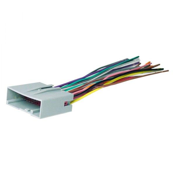 [DIAGRAM_1CA]  Scosche® FD23B - Aftermarket Radio Wiring Harness with OEM Plug | Fd23b Wiring Harness |  | CARiD.com
