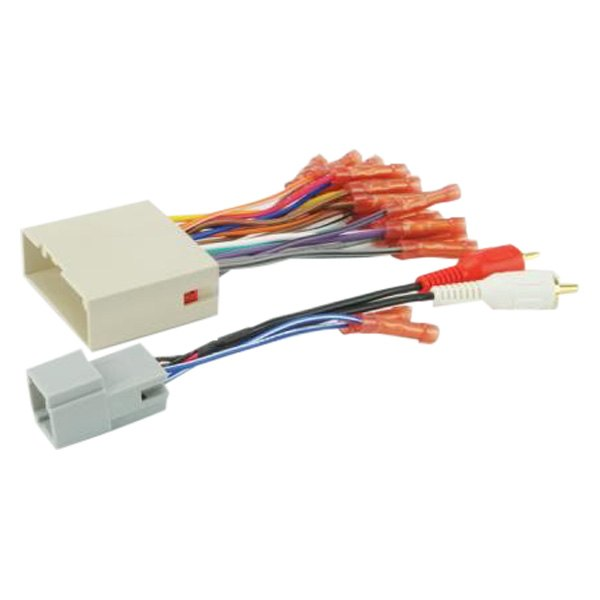 [SCHEMATICS_4PO]  Scosche® - Ford Mustang 2005 Aftermarket Radio Wiring Harness with OEM Plug | Ford Mustang Radio Wiring |  | CARiD.com