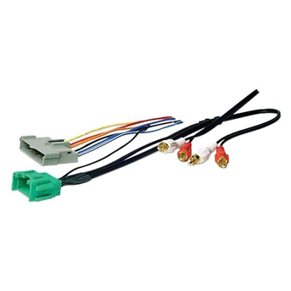 scosche® - ford expedition 1998 aftermarket radio wiring harness with oem  plug and retain oe amplifier  carid.com