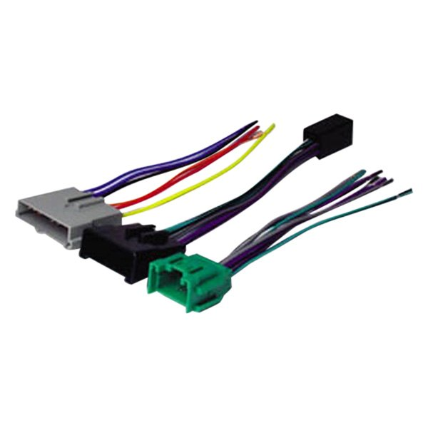 scosche® fdk8b - aftermarket radio wiring harness with oem plug and amplifier bypass scosche wiring harness fdk106 scosche wiring harness 2005 pontiac grand am