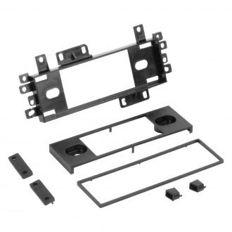 Scosche® - Single DIN Black Multi-Purpose Stereo Dash Kit
