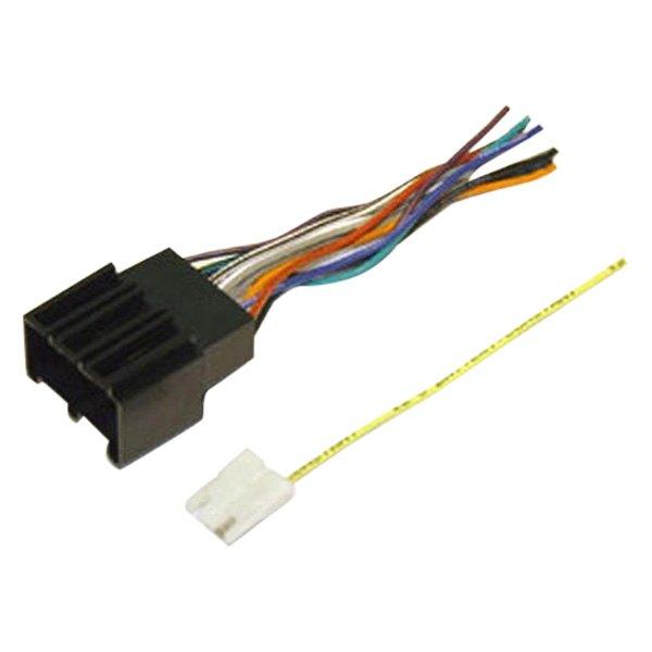 scosche wiring harness gm scosche® gm01b - aftermarket radio wiring harness with oem ... #13