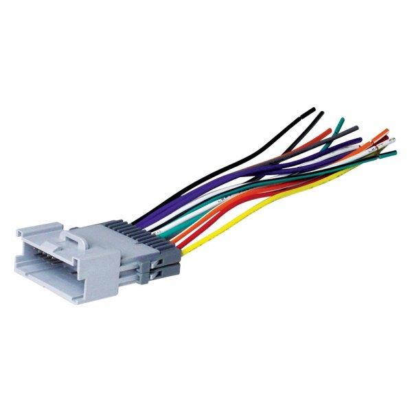 Scosche® - Suzuki Grand Vitara 2000 Aftermarket Radio Wiring Harness with  OEM Plug