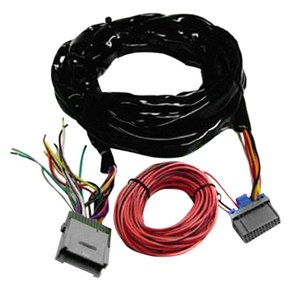 scosche® - aftermarket radio wiring harness with oem plug and amplifier  bypass