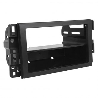 Scosche® - Single/Double DIN Black Stereo Dash Kit