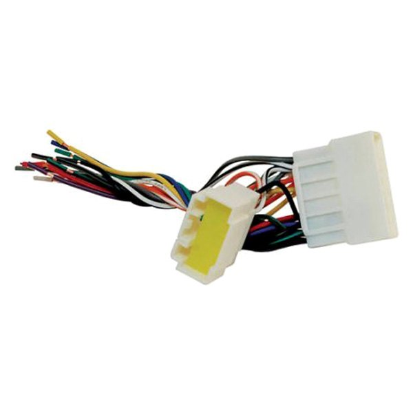 ha028 2_1 scosche� ha028 aftermarket radio wiring harness with oem plug Scosche Wiring Harness Color Code at cos-gaming.co