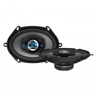 "Scosche® - 5"" x 7"" / 6"" x 8"" 4-Way HD Series 200W Coaxial Speakers"