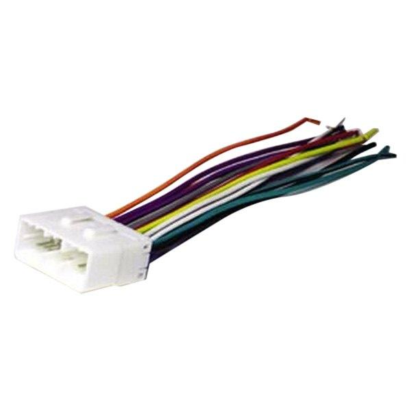 scosche hy02b aftermarket radio wiring harness with oem plug rh carid com