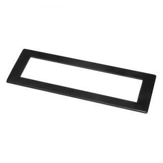 "Scosche® - 1/2"" ISO-DIN Trim Ring with ISO-DIN Opening, 0.5"" Border"