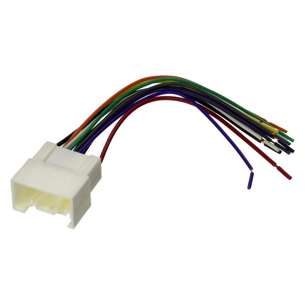 Scosche wiring harness color code