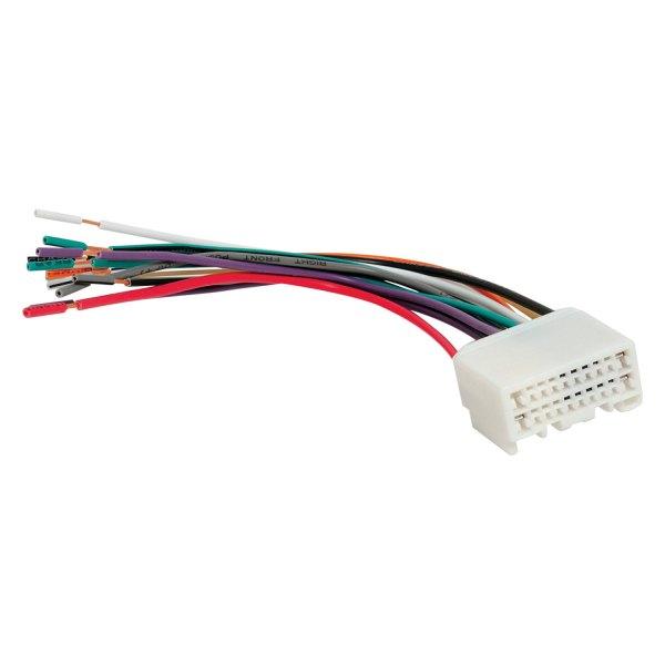 Factory Wiring Harness Replacement : Scosche mi rb factory replacement wiring harness with