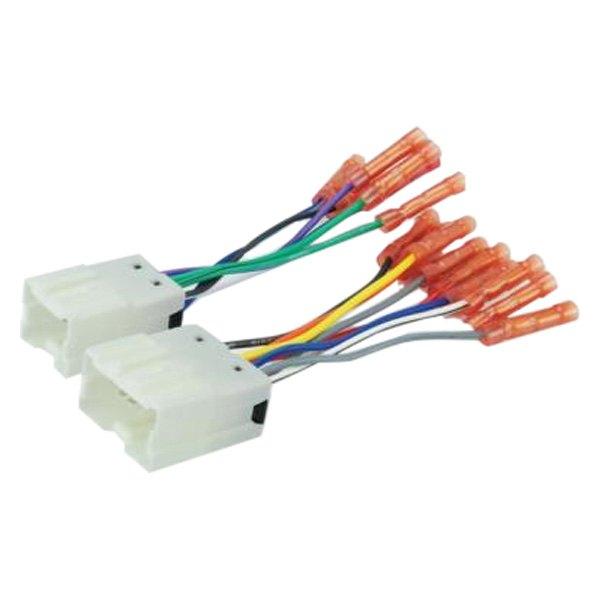 [SCHEMATICS_4FD]  Scosche® - Nissan 240SX 1995 Aftermarket Radio Wiring Harness with OEM Plug | 240sx Radio Wiring |  | CARiD.com