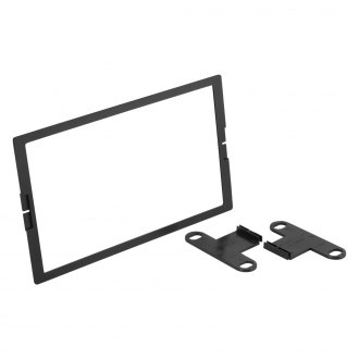Scosche® - Double DIN Black Multi-Purpose Stereo Dash Kit