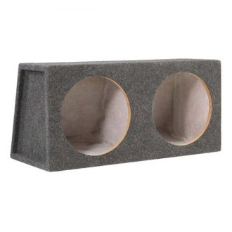 "Scosche® - 12"" SE Series 2-Holes Sealed Subwoofer Box"