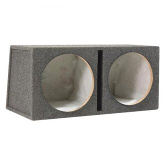 "Scosche® - 10"" SE Series 2-Holes Vented Subwoofer Box"