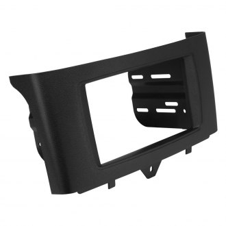 Scosche® - Double DIN Black Stereo Dash Kit with Pocket