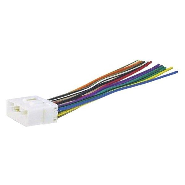 [SCHEMATICS_4UK]  Scosche® SU03B - Aftermarket Radio Wiring Harness with OEM Plug | Scosche Radio Wiring Harness |  | CARiD.com