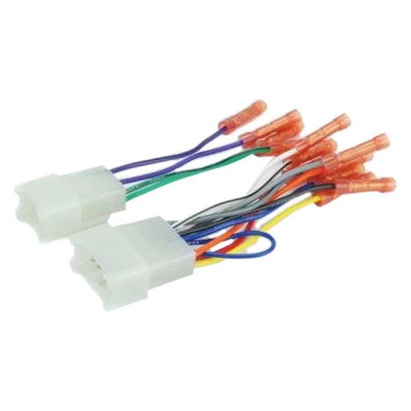 [DIAGRAM_34OR]  Scosche® TA02BCB - Aftermarket Radio Wiring Harness with OEM Plug | Scosche Radio Wiring Harness |  | CARiD.com