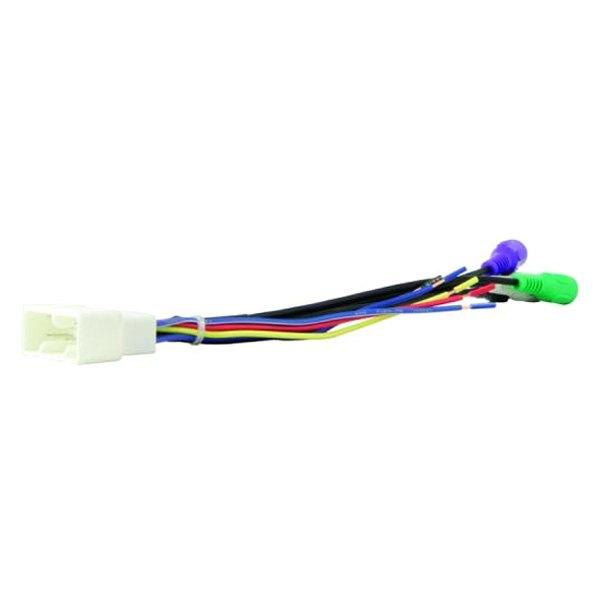 [SCHEMATICS_4ER]  Scosche® TA04B - Aftermarket Radio Wiring Harness with OEM Plug and Retain  OE Amplifier | Scosche Wiring Harness 1999 Camry |  | CARiD.com