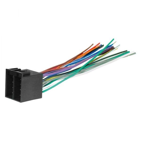 [SCHEMATICS_4JK]  Scosche® VW01B - Aftermarket Radio Wiring Harness with OEM Plug   Scosche Wiring Harness Vw Audi      CARiD.com