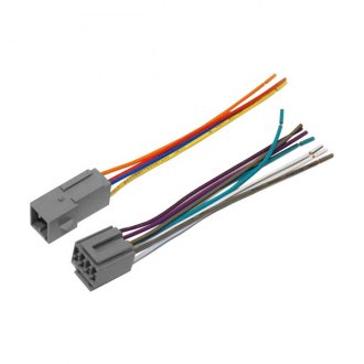 Scosche® - Wiring Harness, Plugs Into Car Harness, Provides 4 Speaker Connectors
