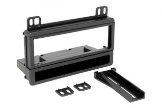 Scosche® - Single DIN Stereo Dash Kit with Pocket and Spacers