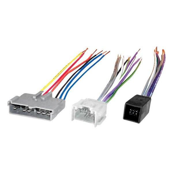 [DIAGRAM_1CA]  Scosche® - Aftermarket Radio Wiring Harness with OEM Plug | Scosche Radio Wiring Harness |  | CARiD.com