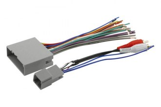 Scosche® - Wiring Harness, Plugs Into Car Harness
