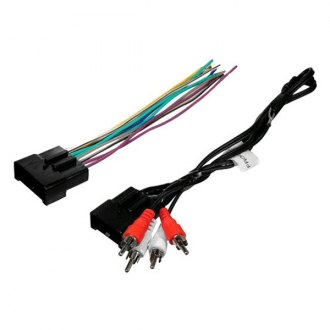 Scosche® - Wiring Harness with OEM Plugs and Amplifier Integration