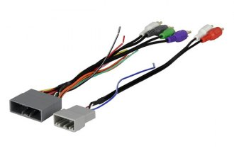 Scosche® - Wiring Harness, Plugs Into Car Harness, Amplifier Integration