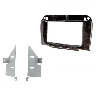 Scosche® - Double DIN Wood Look Finish Stereo Dash Kit
