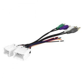 Scosche® - Wiring Harness with OEM Plugs and Amplifier Bypass
