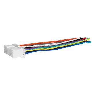 Scosche® - Wiring Harness, Plugs Into OEM Radio, Provides 4 Speaker Connectors