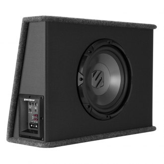 "Scosche® - 10"" SPSW Series Single Vented Powered 500W Subwoofer Enclosure"