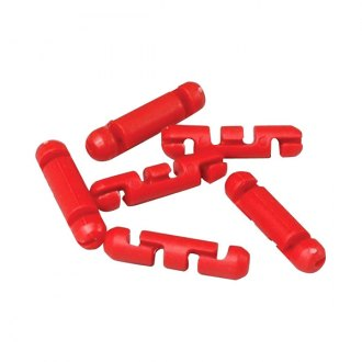 Scotty® - Stopper Beads for Braided Line, Red 6/PK